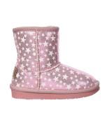 Boots Metalizado Rosa 22-27 - BASIC