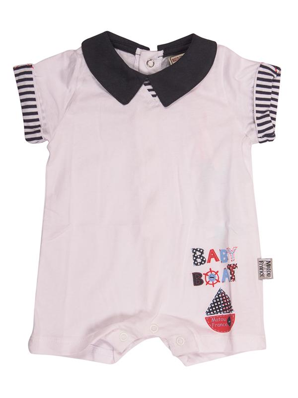 Bodysuit BABY BOAT WHITE