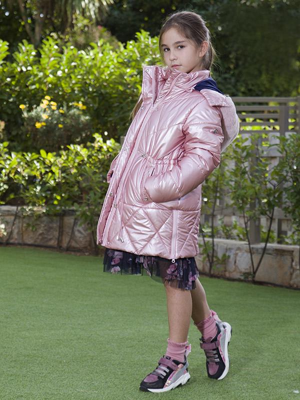 Jacket SHINY LADY ΡΙΝΚ