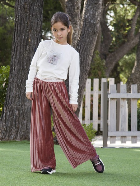 Trousers VELVET TOUCH LADY
