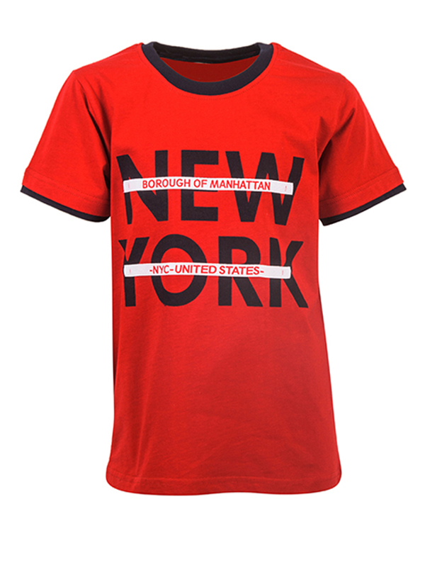 Blouse NEW YORK RED