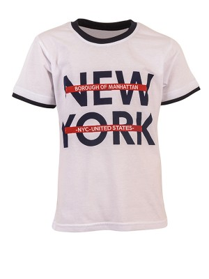 Blouse NEW YORK WHITE