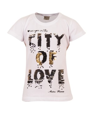 T-Shirt  CITY WHITE
