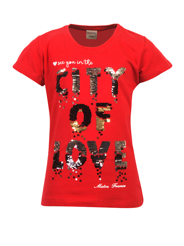 T-Shirt  CITY RED