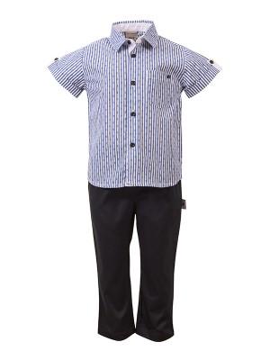 bebe Shirt Set BLUE