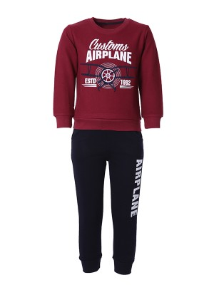 Tracksuit AIRPLANE BORDEAUX