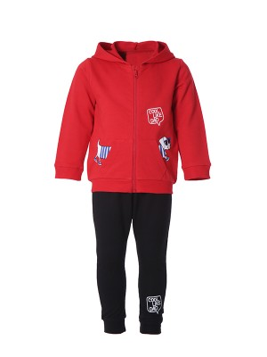bebe Tracksuit COOL LIKE DAD RED
