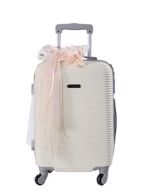 Baptism Suitcase MATILDA Salmon