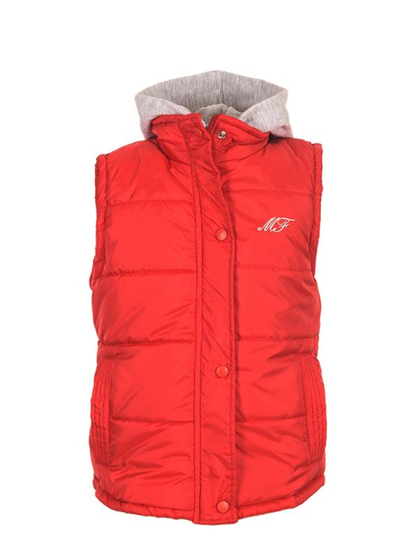 Sleeveless Jacket RED