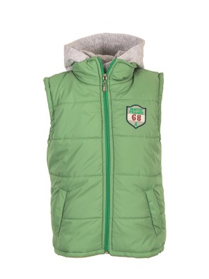 Sleeveless Jacket GREEN