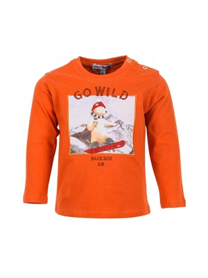 Blouse GO WILD ORANGE