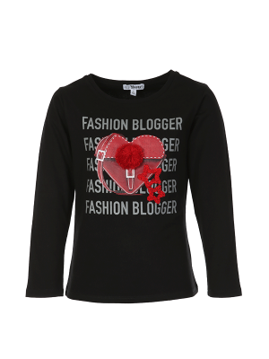 Blouse FASHION BLOGER BLACK