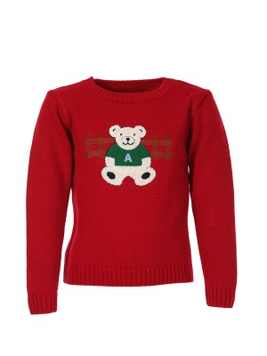 Sweater BEAR RED