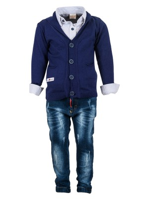 Trousers Set JACKET BLUE