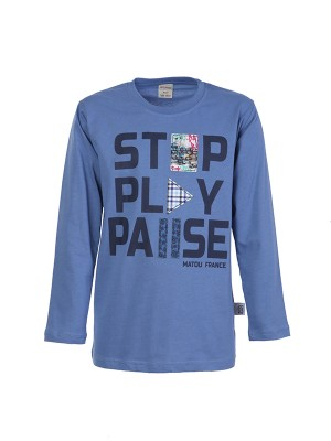Blouse STOP PLAY PAUSE RAF