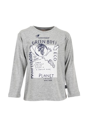 Blouse GREEN BOY GREY ARG