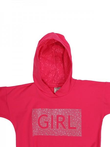 Blouse STRASS GIRL FUCHSIA