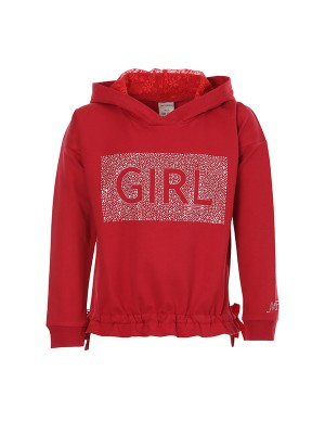 Blousee STRASS GIRL RED