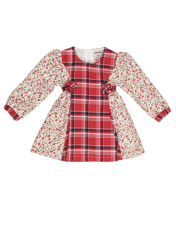 Dress LIBERTY RED BEBE