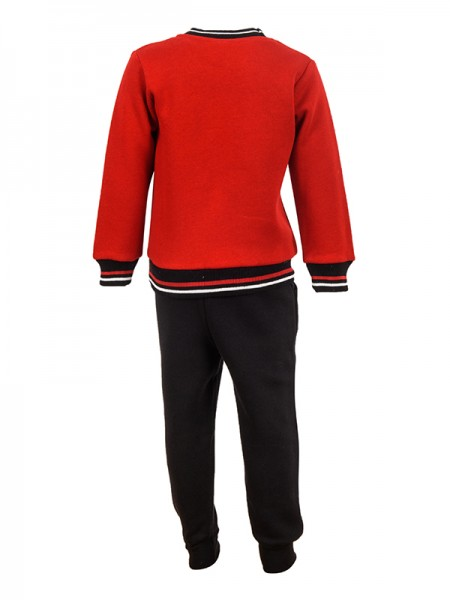 Tracksuit HAPPY RED