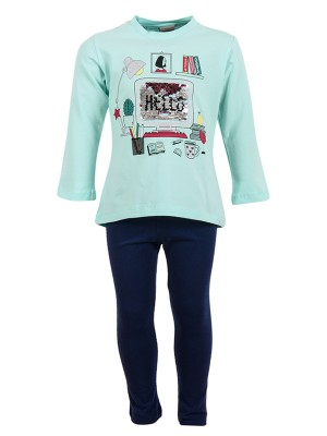 Winter leggings HELLO MINT