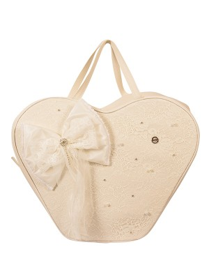 BAPTISM BAG HEART