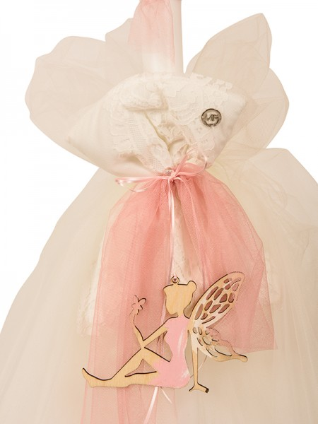 BAPTISM CANDLE FAIRY