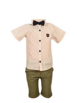 bebe Shirt Set ΚΗΑΚΙ