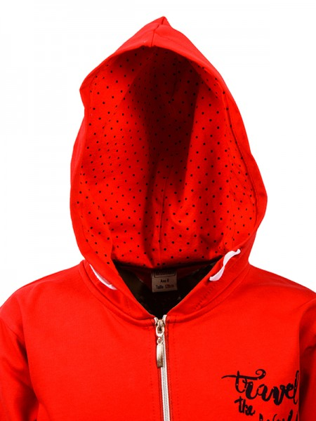 Cardigan TRAVEL RED