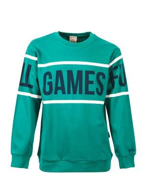 Sweatshirts GAMES GREEN
