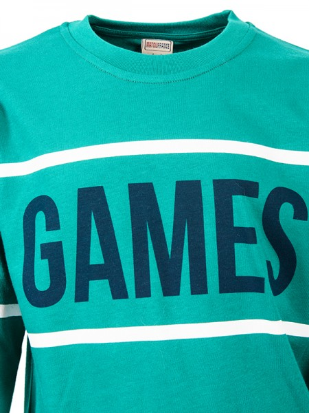 Sweatshirts GAMES GREEN