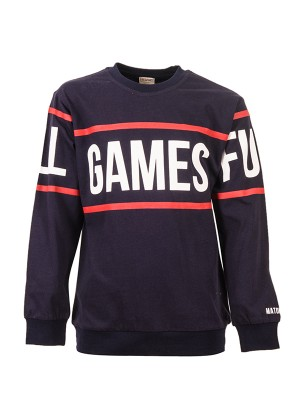Sweatshirts GAMES BLUE