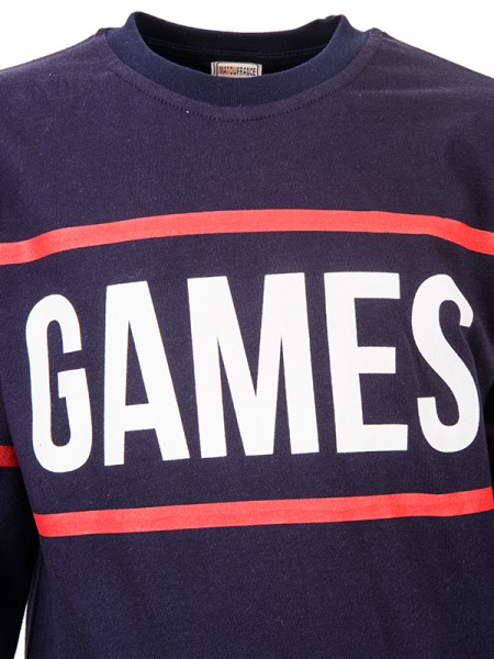 Sweatshirts GAMES BLUE