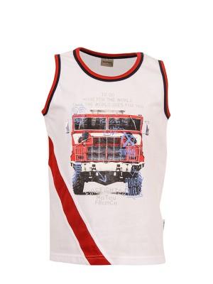 T-shirt FIREFIGHTER WHITE