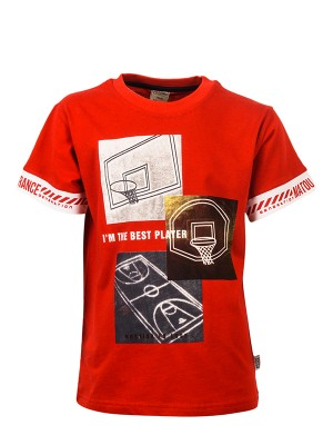 T-shirt BEST PLAYER RED
