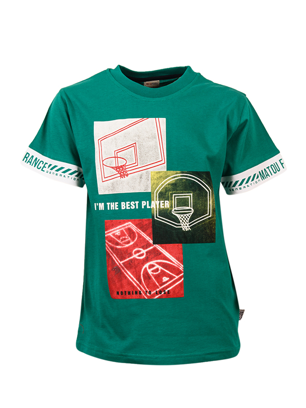 T-shirt BEST PLAYER GREEN