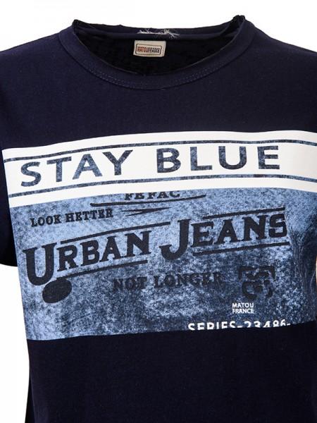T-shirt URBAN JEANS BLUE