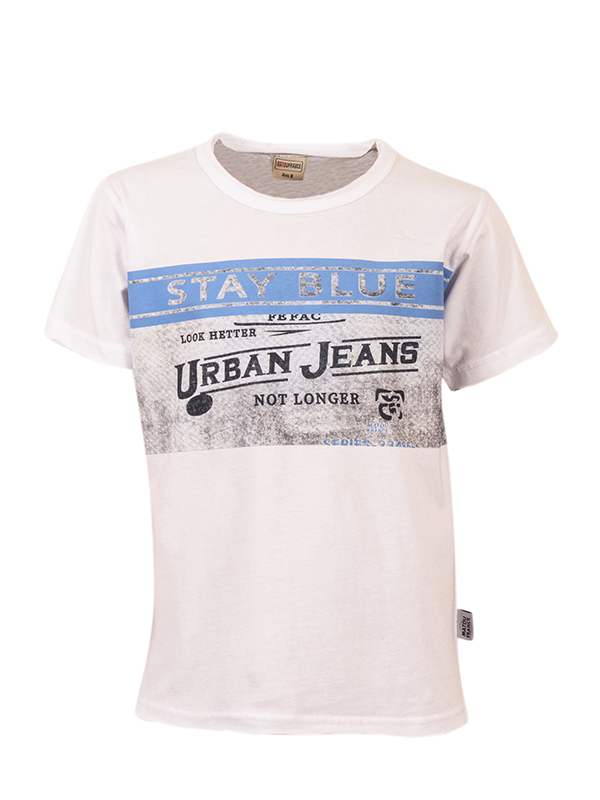 T-shirt URBAN JEANS WHITE