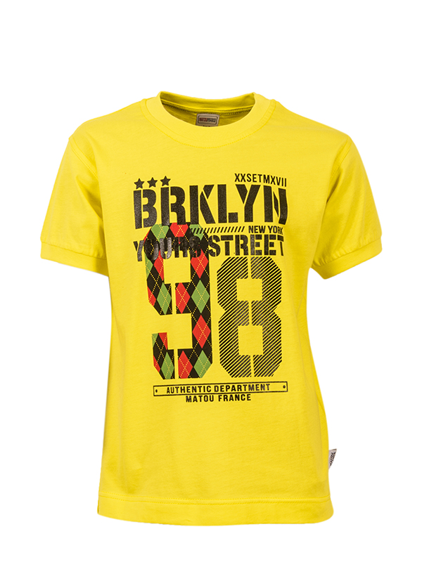 T-shirt BROOKLYN YELLOW
