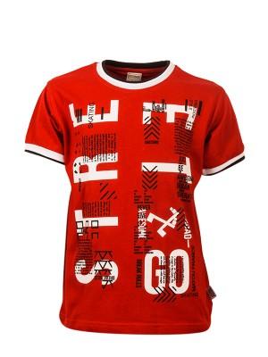 T-shirt STREET GO RED