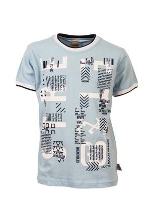 T-shirt STREET GO LT. BLUE