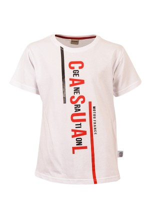 T-shirt CASUAL WHITE