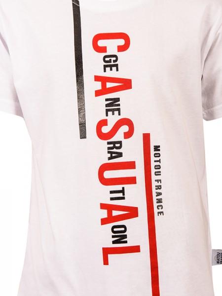 T-shirt CASUAL WHITE