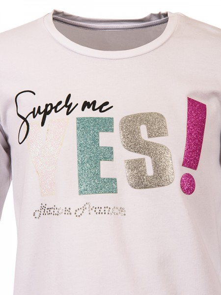 T-Shirt YES WHITE