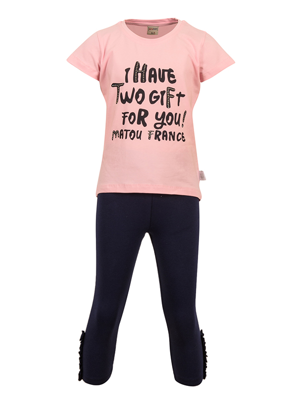 Set Leggings Pink MADISON