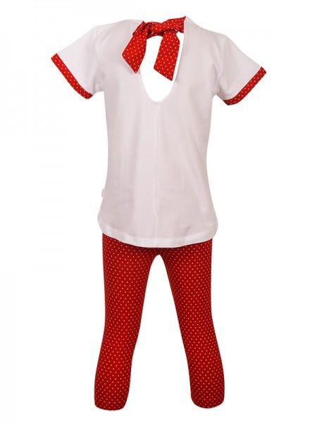 Set Leggings Red HARPER