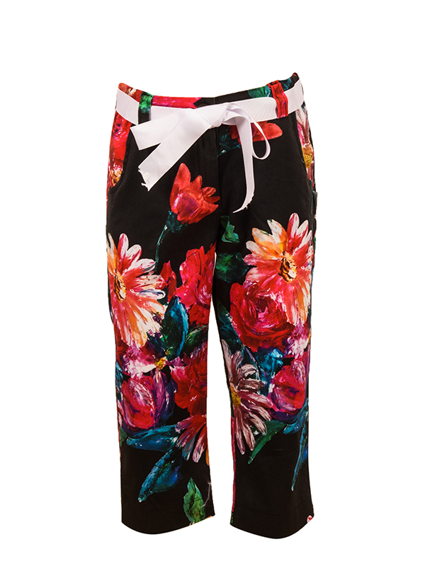 Capri Trouser MAIRY BLACK