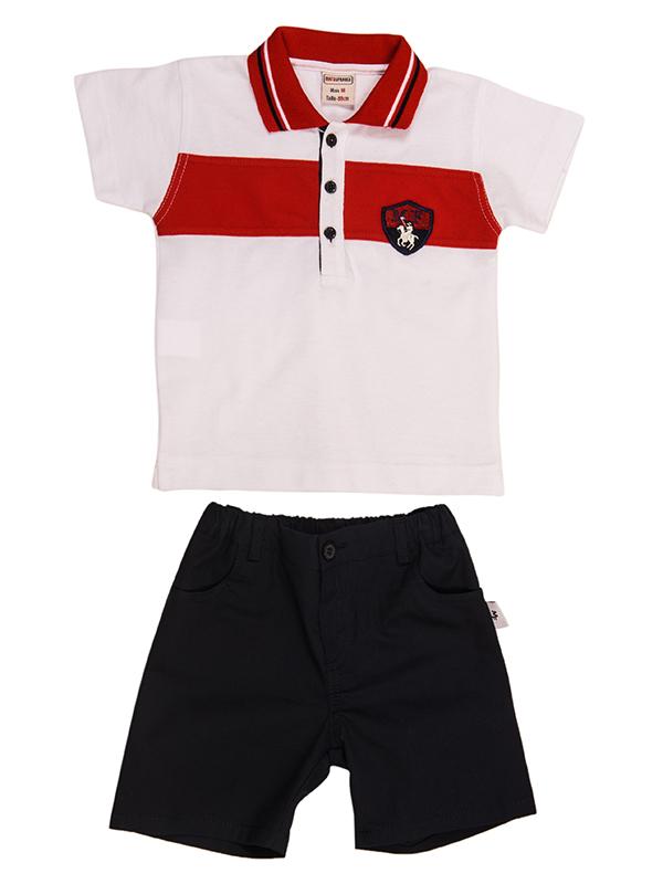 bebe T-Shirt Set WHITE