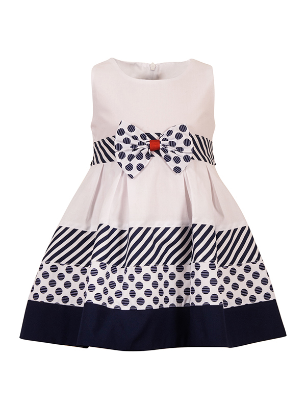 Dress NAVYPOLKA