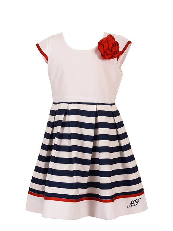 Dress NAVYROSE